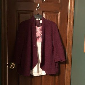 Alfred Dunner shirt and jacket